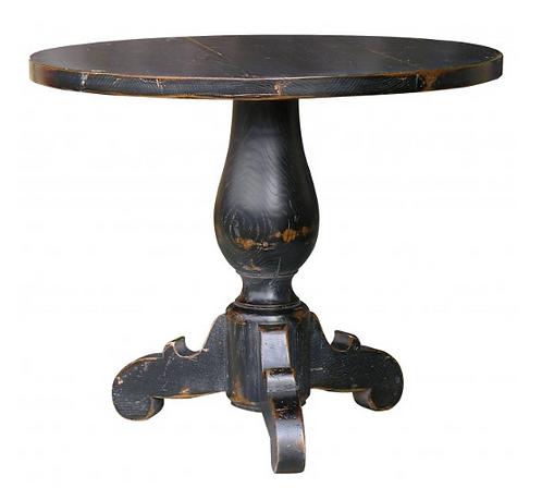 PARIS XIXth  Century Occasional Table in Noir