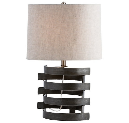 Concentric Circles Table Lamp