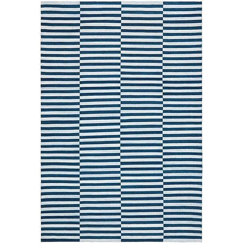 Ralph Lauren Cameron Stripe Indigo/Chambray 8 x 10