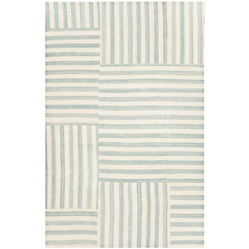 Ralph Lauren Canyon Stripe Patch Sky 8 x 10