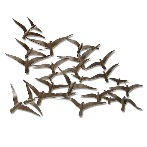 Birds in Flight Wall Decor