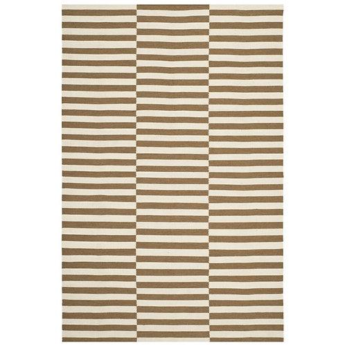 Ralph Lauren River Reed Stripe Adobe 9 x 12