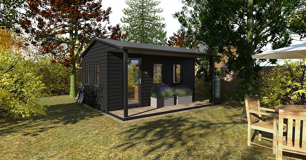Norfolk Garden Room Cabin Design
