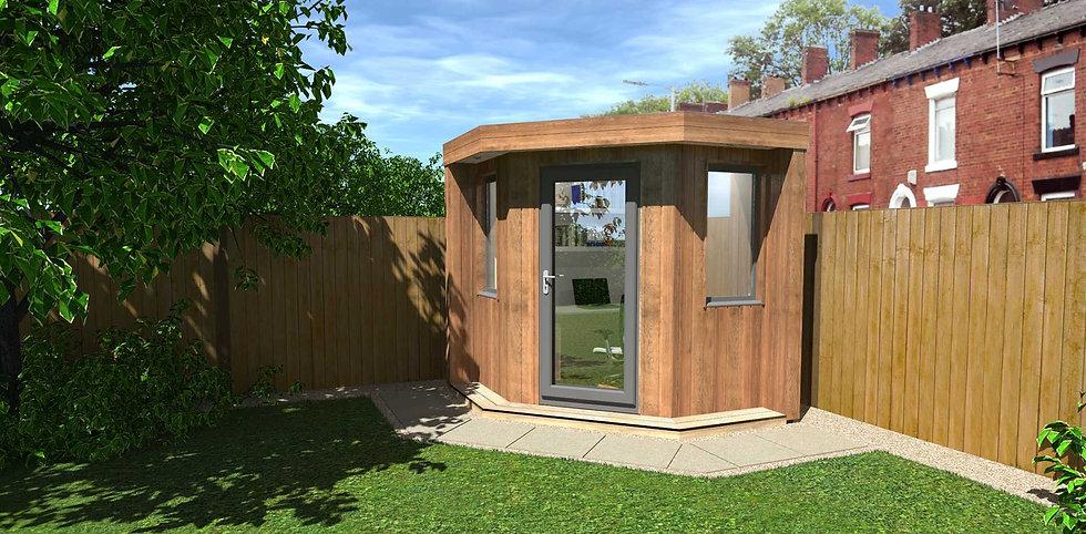 The Hive Garden Pod Garden Room from Image Garden Rooms
