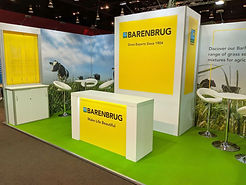 Graphic Design for Barenbrug Exhibition Stand by Image Display Norwich