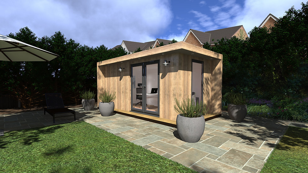 Knightsbridge Garden Studio Design