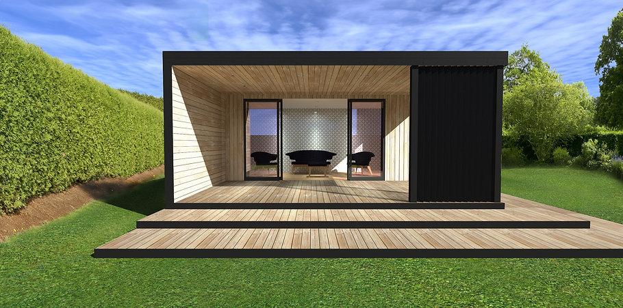 Custom Garden Room Studio Design