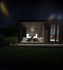 Garden Room with Al-Fresco Outdoor Dining Area