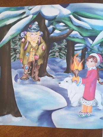 Kikitu and the Secrets of Waruk's Lair