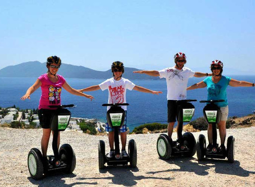 Aegean Gingers Segway Bodrum Grand Tours