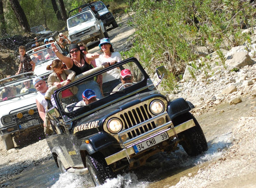Jeep Safari around Bodrum Peninsula with lunch