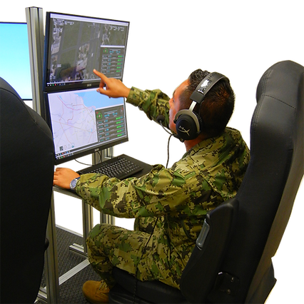 ASG ISR Sensor Mission Trainer Simulation Training
