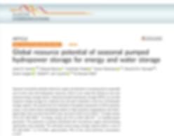 Global resource potential of seasonal pu