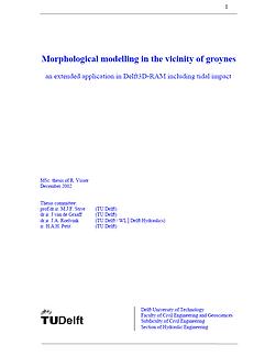 Morphological modelling in the vincinity