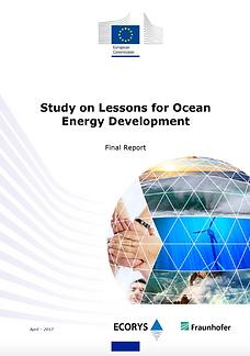 Study on lessons for ocean energy development
