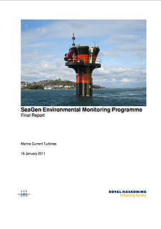 SeaGen Environmental Monitoring Programme Final Report 2011