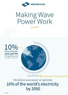 Making Wave Power work