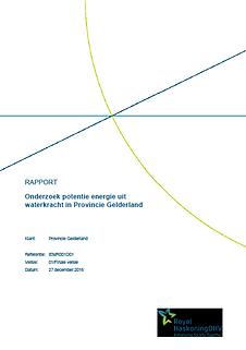 Onderzoek potentie energie uit waterkracht in Provincie Gelderland