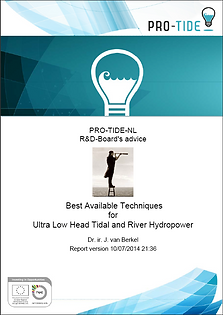 Best Available Techniques for Ultra Low Head Tidal and River Hydropower