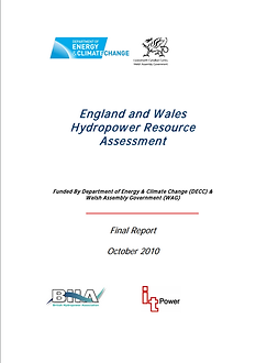 England and wales hydropowers assesment.