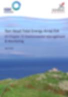 Torr Head Tidal Energy Array EIA ES Chapter 21 Environmental Management & Monitoring