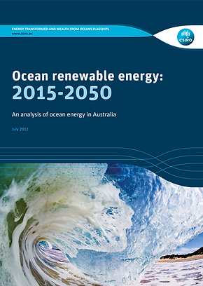 Australian ocean renewable energy 2015-2