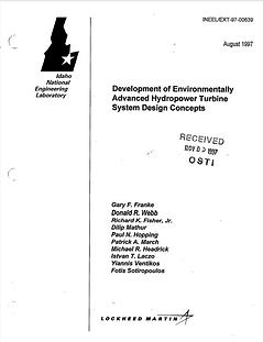 Development of environmentally advanced