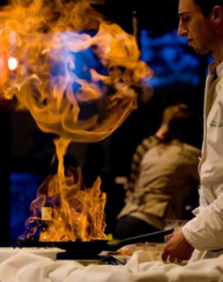 Flambe cooking, Private Chef
