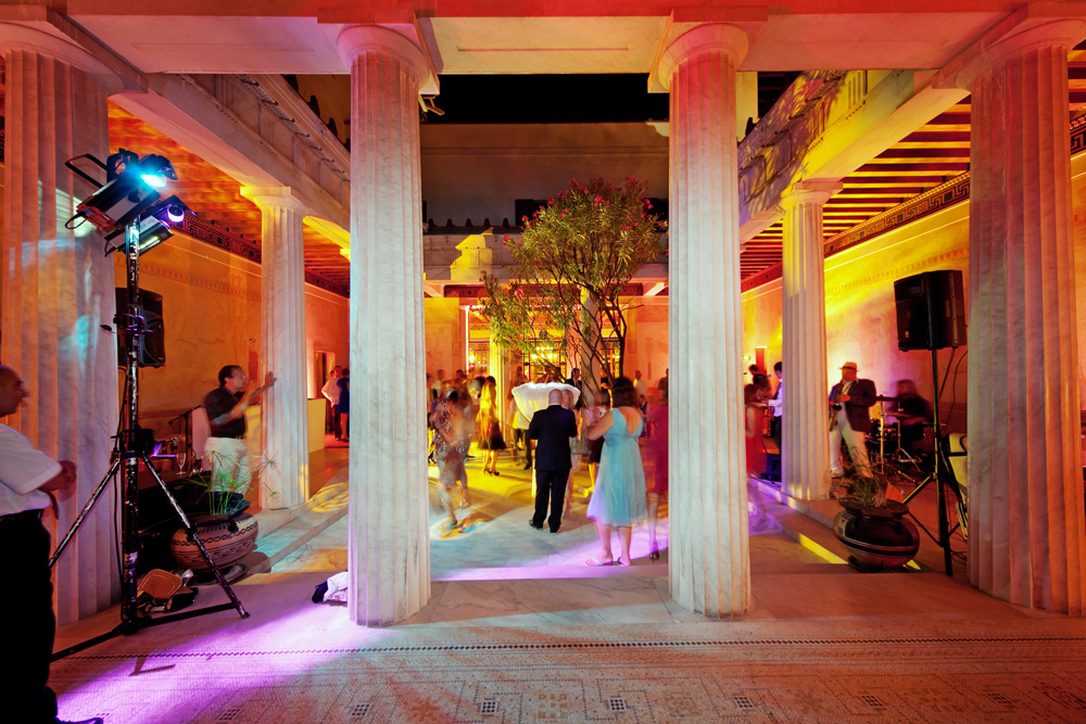 Wedding Reception, Villa Kerylos