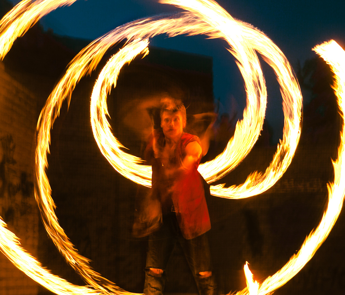 Fire show, Fire Eating