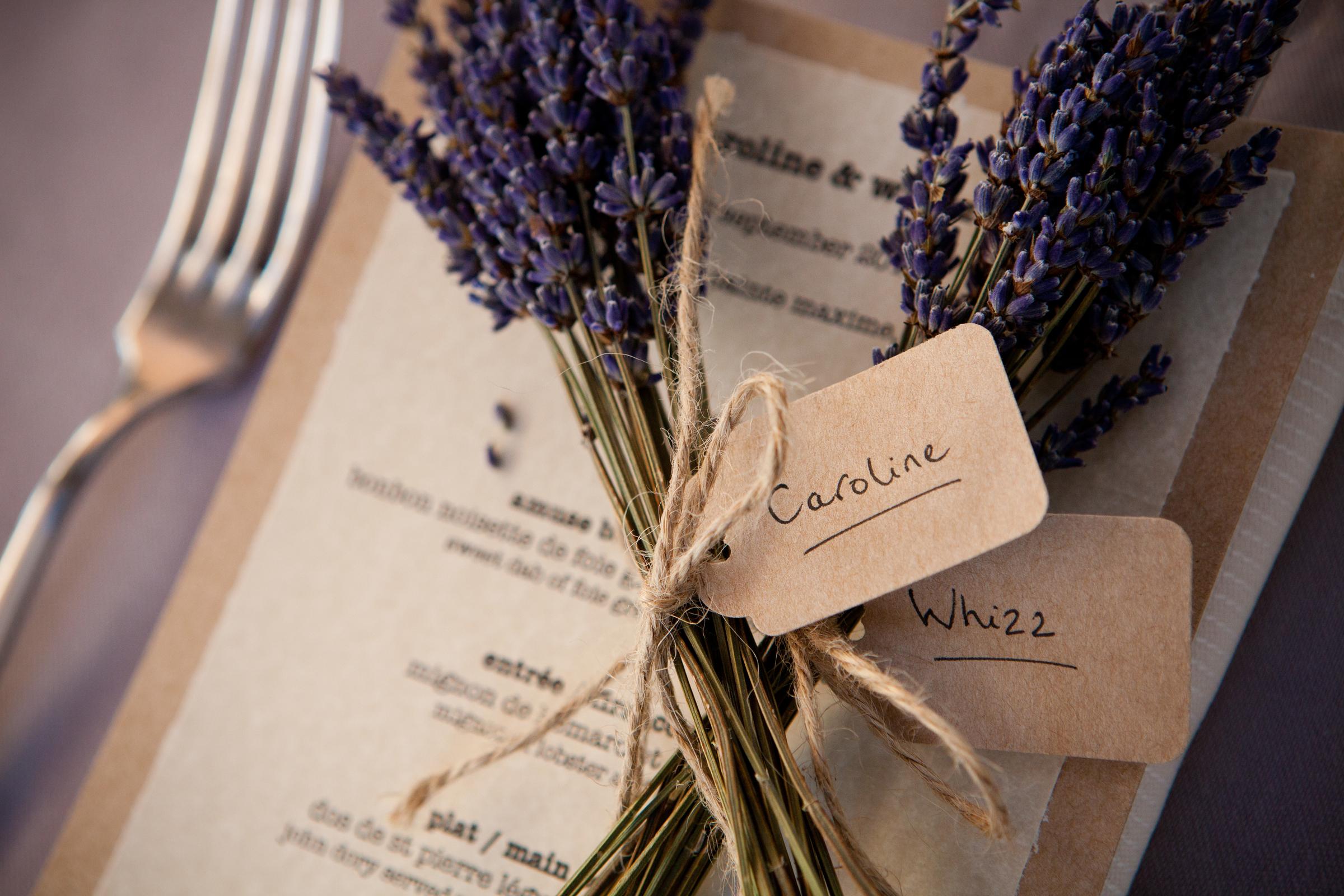 Lavender Place Names, France