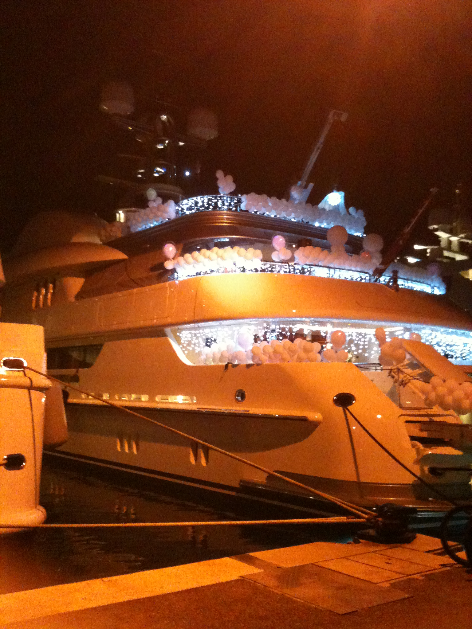 VIP Yacht Party, 60m Yacht, Cannes