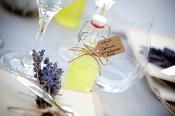 Limoncello Wedding Favors, Provence