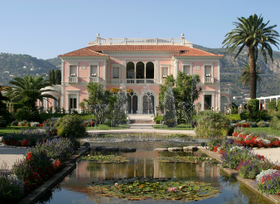 Venue - Villa Rothschild, Cap Ferrat