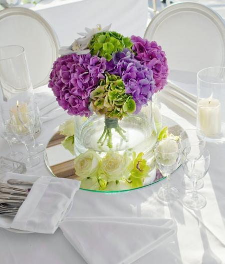 Centrepiece floral decoration
