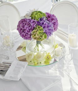 Centrepiece floral decoration