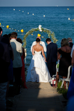 Beach Wedding Ceremony, Cote d'Azur
