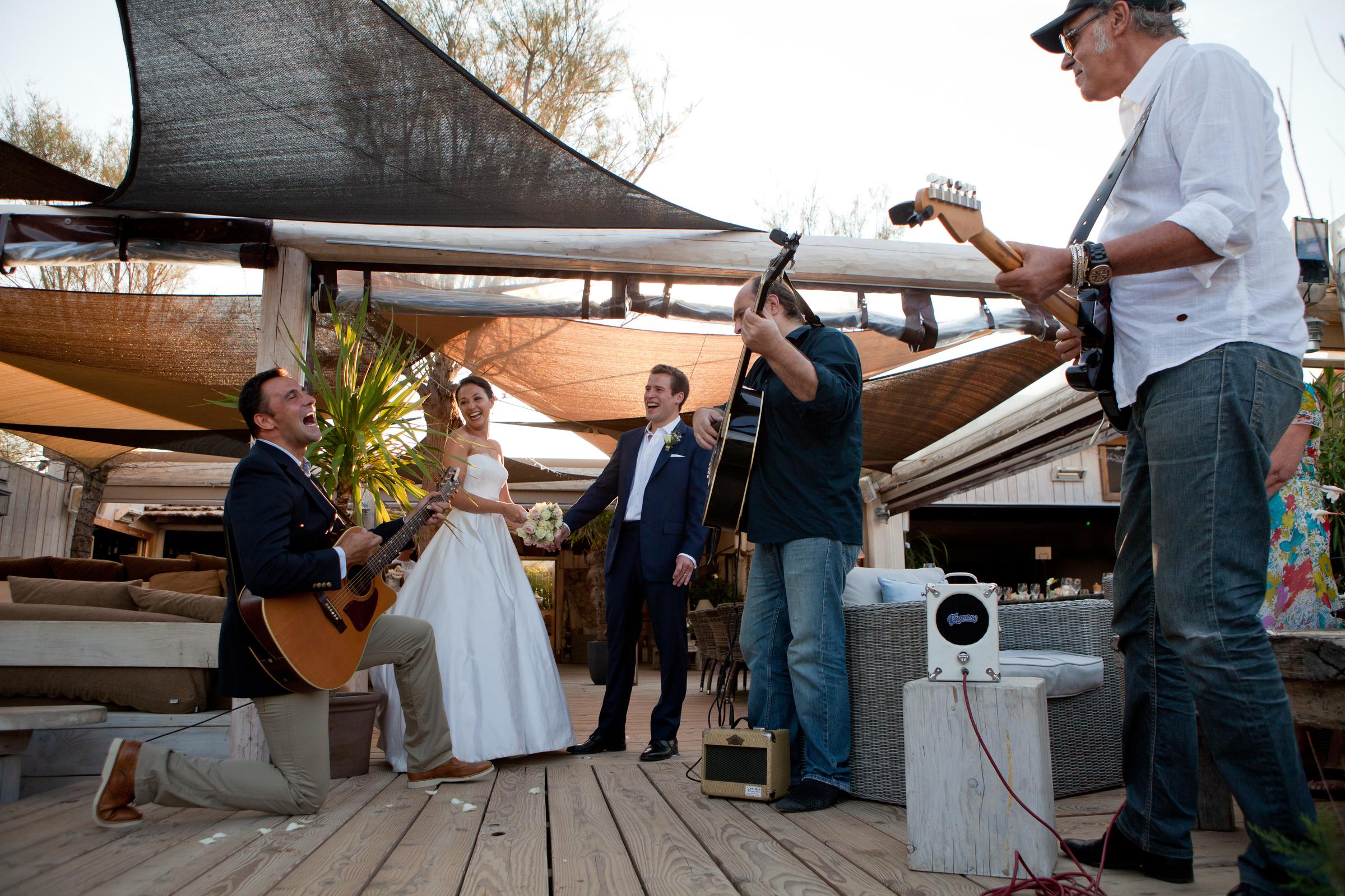 Wedding band, Cote d'Azur