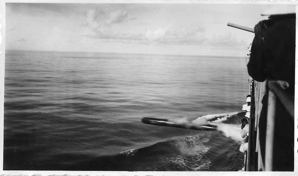 jeanne d'arc, tir de torpille