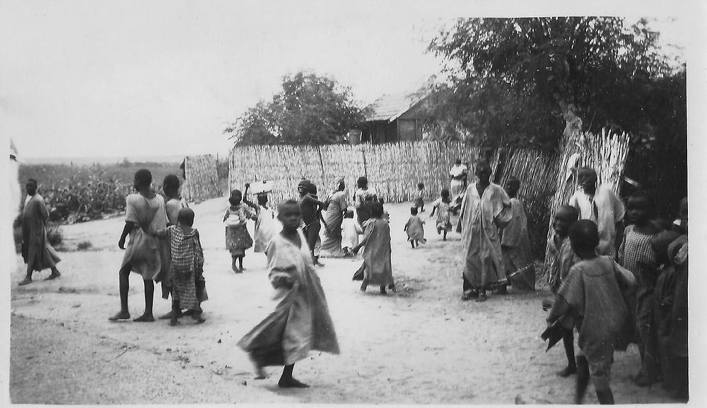 Djibouti, Afrique, noir et blanc, années 30