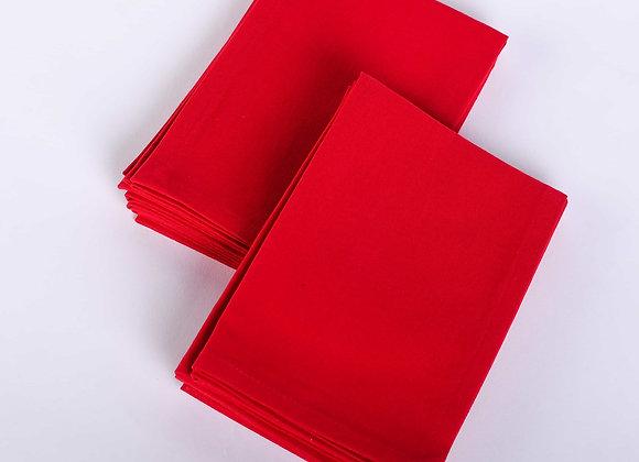 "Red Napkin (15"" x 15"") - Set of 6"