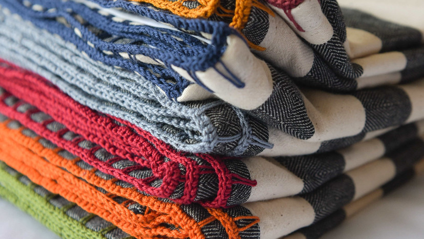 Stripe Throw Blankets