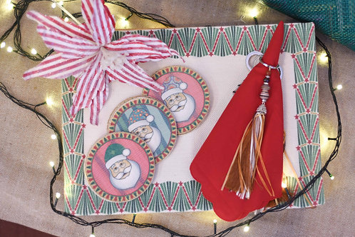 Placemat - Holiday Border