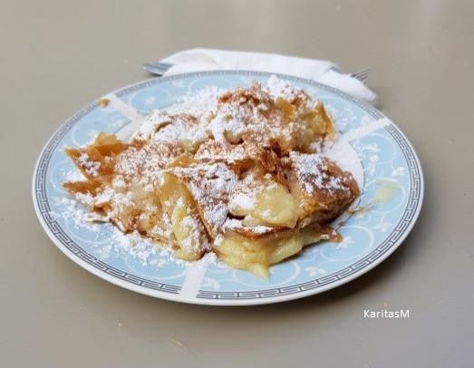 Bougatsa - Sweet Vanilla Custard Bougatsa