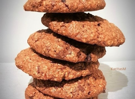 Oatmeal Cookies that Hit the Spot!