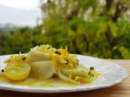 Fennel with Lemon/Caper Dressing