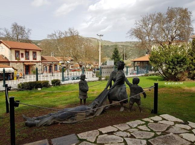 Memorial outside Museum