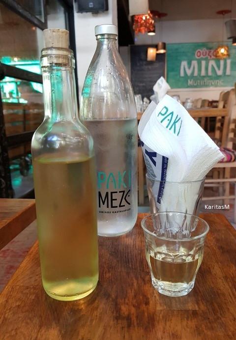 White wine & Water