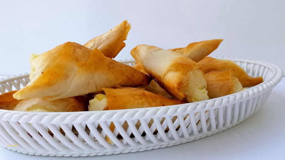 Greek Feta Triangles