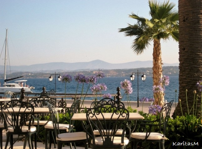 View from Poseidonion Terrace